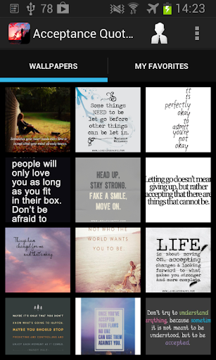 Acceptance Quotes Wallpapers