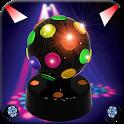 Disco lights flashlight icon
