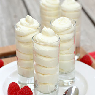 Lemon Cheesecake Mousse.