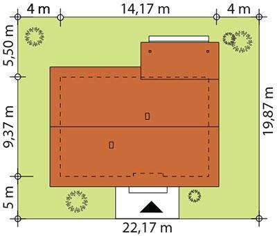 Abra drewniana - Sytuacja