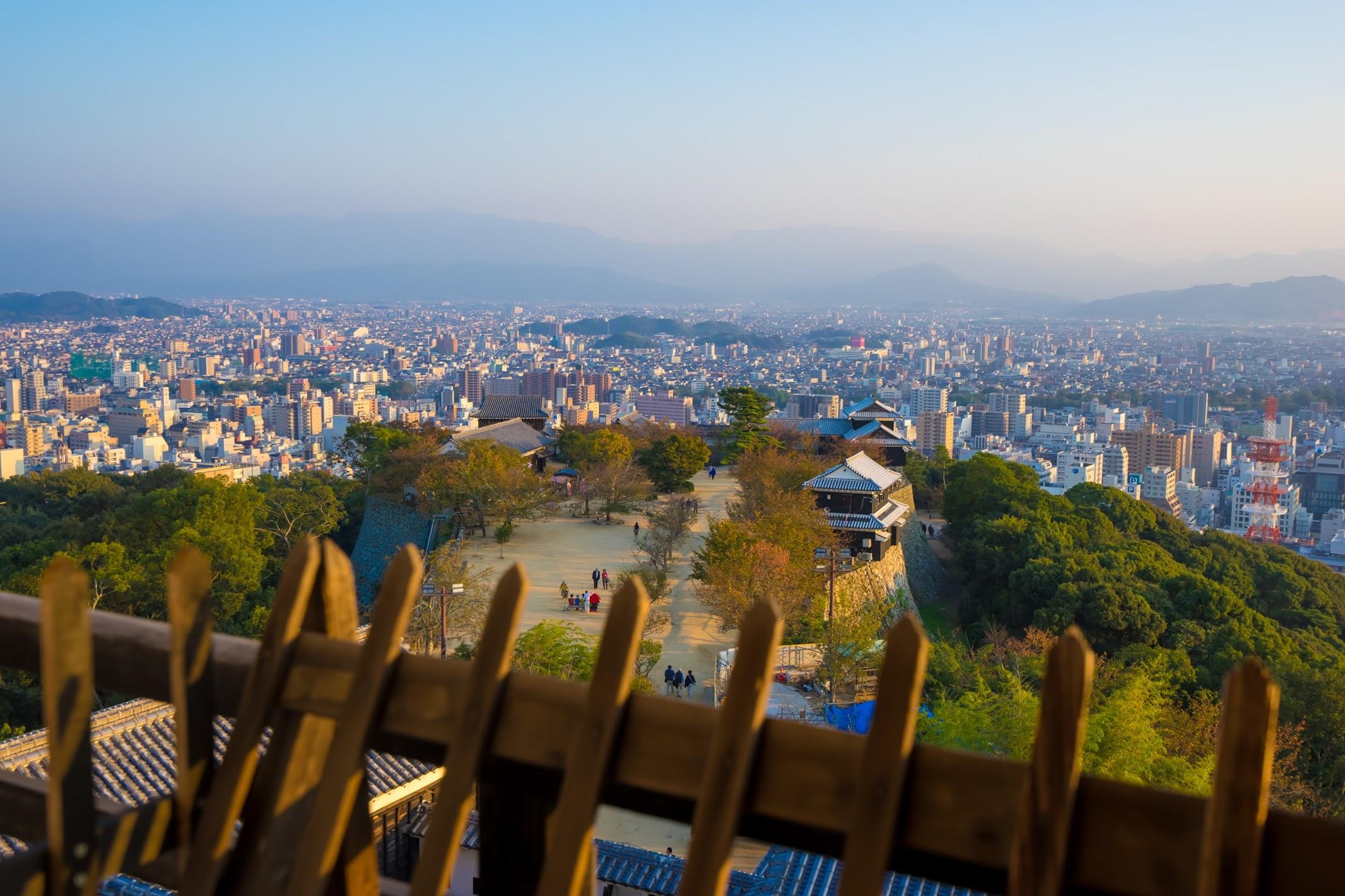 Matsuyama Castle tower3