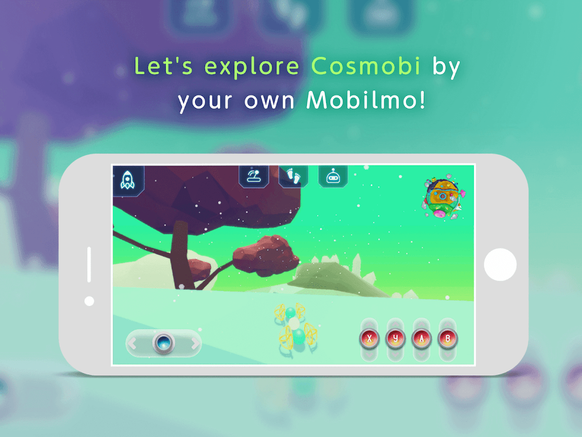 Mobilmo - create new mobile body with others- screenshot