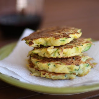 Summer Squash Fritters.