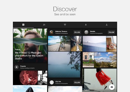EyeEm - Camera і Photo Filter APK screenshot thumbnail 8