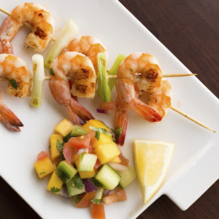 Daphne Oz's Sautéed Shrimp With Papaya Salsa