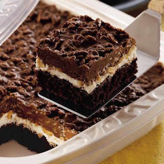 Traditional Brownie Goody Bars.