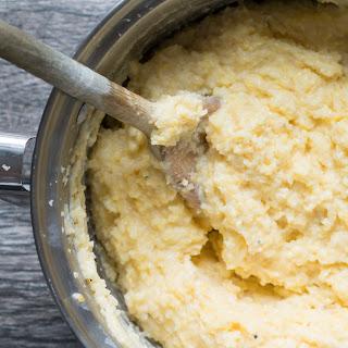 Creamy Parmesan Polenta.