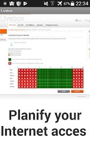 Livebox Admin Lite - náhled