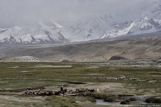 Photo: Kirgíz-kínai határ, A Selyemút tetején, Péczely Lajos, Roof of the World, A Pamírban