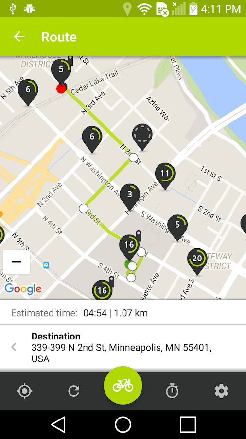 Nice Ride Bike Share- screenshot