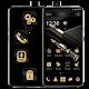 Metallic Golden Black Business Theme Download on Windows