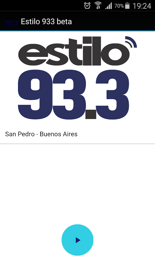 Estilo 93.3- screenshot