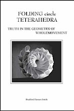 Photo: Folding circle Terahedra: Truth in the Geometry of Wholemovement Hansen-Smith, Bradford Wholemovement Publications, Chicago IL, 2005 paperback 390 pp ISBN 09766773