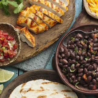 Easy Grilled Chicken Tacos.