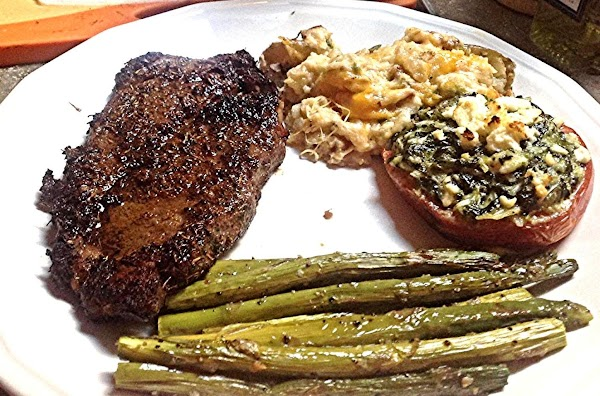 Marinated Rib Eye Steak Rub Recipe