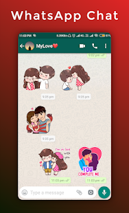 Love & Romantic Stickers For Whatsapp - WAStickers