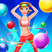 Beauty Girl Bubble Shooter