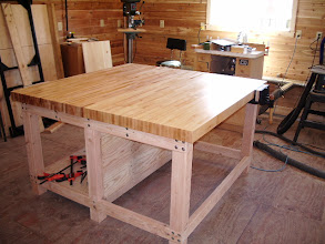 "Photo: My first ""real"" workbench! This thing is a beast, and worth every penny!"