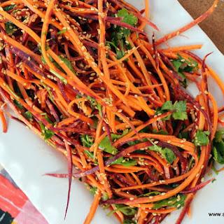 Carrot Sesame Slaw Recipe