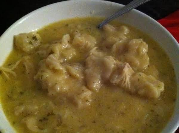 Crockpot Chicken & Dumplins Recipe