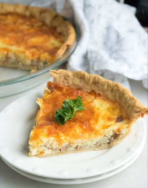 """Make Ahead Breakfast Quiche """"A breakfast Quiche is one of the simplest..."""