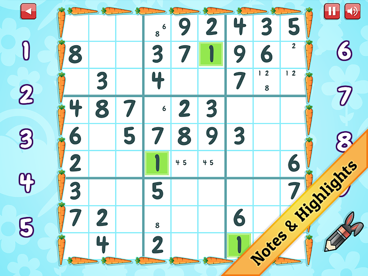 Easter Sudoku- screenshot