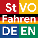 Traffic Signs, Car Controls and German Vocabulary icon