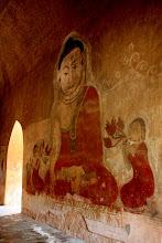 Photo: Year 2 Day 57 - More Beautiful Artwork in  Sulamani Guphaya Temple