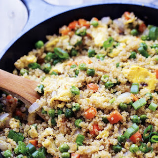 Quinoa Fried 'Rice' Recipe