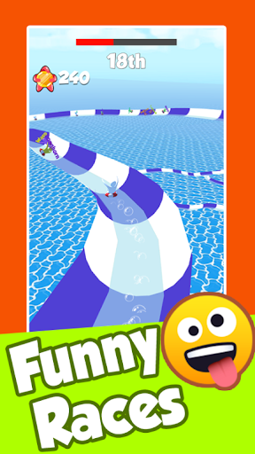 Aquapark Race Water Slide - screenshot