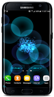 Abstract 3D Live Wallpaper Screenshot