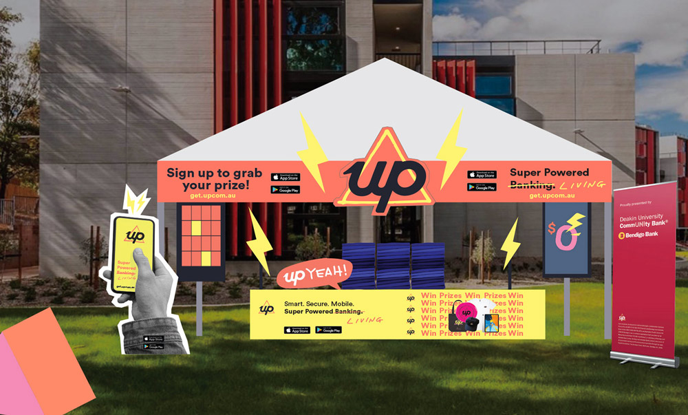 Concept design for O-Week set ups