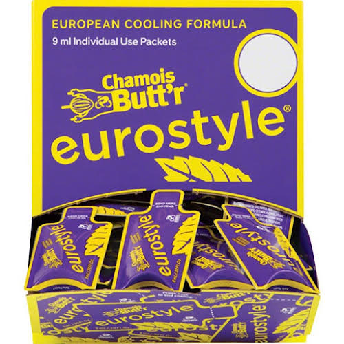 Paceline Chamois Butt'r Eurostyle: 0.3oz Packet, Box of 75