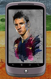Lionel Messi Wallpaper - náhled