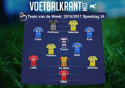 Gent, Anderlecht én Standard in het Team van de Week