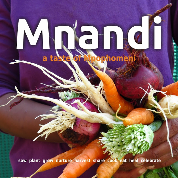 The recipes in 'Mnandi - A Taste of Mphophomeni' focus on local, seasonal produce.
