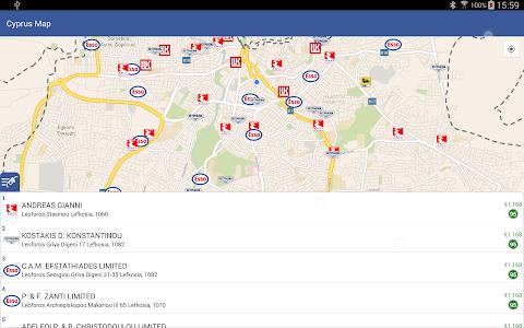 Cyprus Map screenshot 3