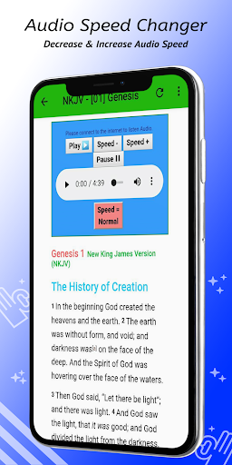 Audio Bible - NKJV Free App 8.10 screenshots 3