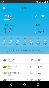 Weather in Germany 14 days - screenshot thumbnail