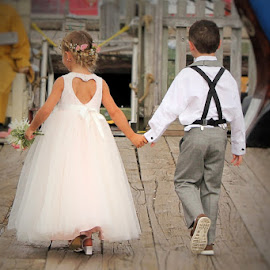 by Lena Arkell - Babies & Children Children Candids ( flower girl, ring bearer, wedding, girl, boy,  )