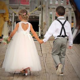 by Lena Arkell - Babies & Children Children Candids ( flower girl, ring bearer, wedding, girl, boy )