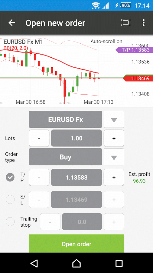 xStation - Forex & CFD Trading- screenshot