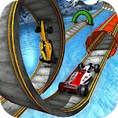 Impossible Formula Car Stunt Racing Tracks