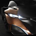 futuristic cars live wallpaper icon
