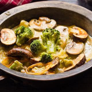 German Vegetable and Mushroom Stew [Vegan, Gluten-Free].