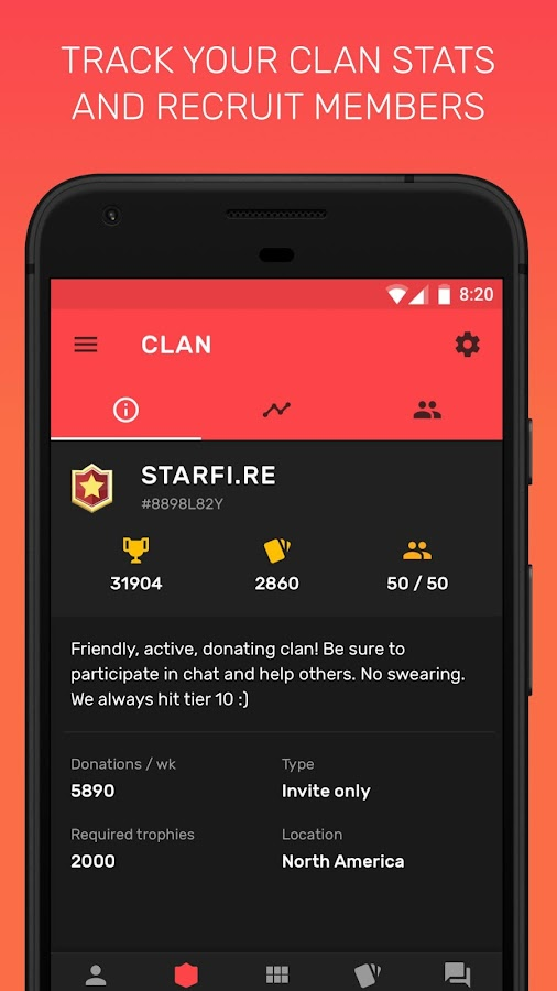 Starfire for Clash Royale - chest tracker & stats- screenshot