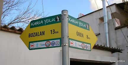 Photo: Ören Ören-Bozalan-Gökbel-Mazı Arası Karya(Karia) Yolu 3 Etabı - 18.01.2014