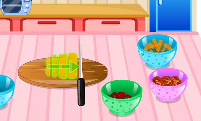 العاب طبخ للبنات-طبخ المعكرونة - screenshot