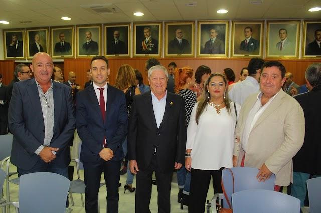 Ginés González, Ricardo Céspedes, Joaquín Salvador, Lola Zapata y Francisco Segura.