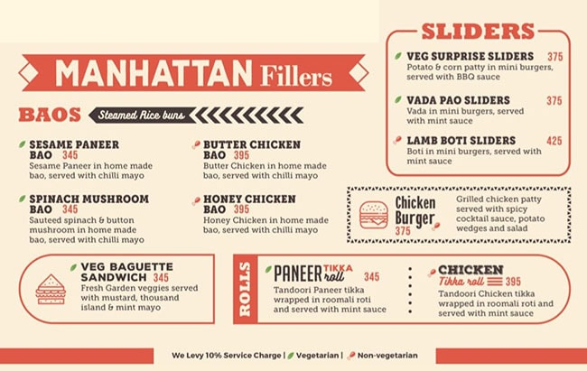 Manhattan Bar Exchange & Brewery menu 7
